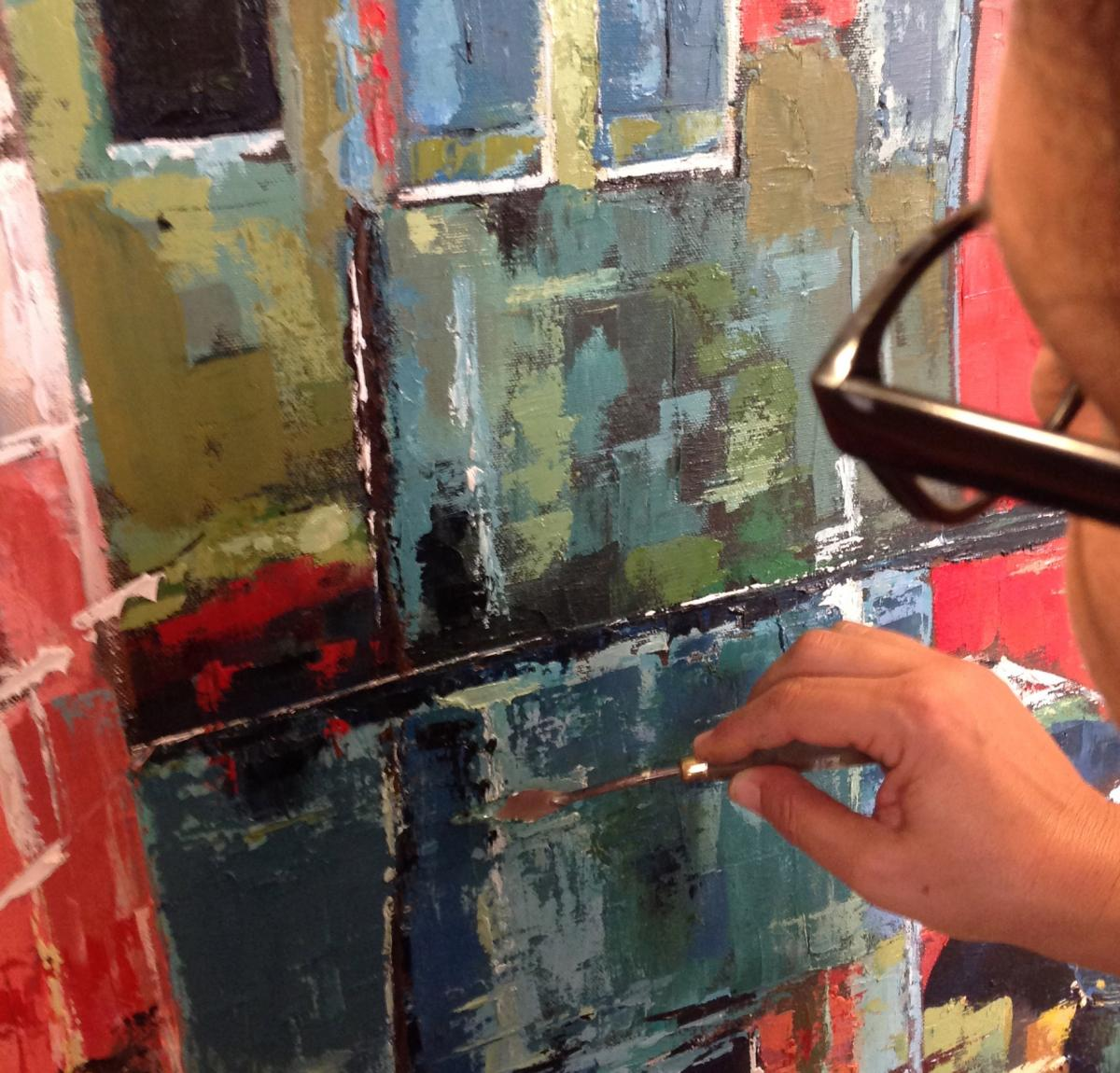 painting intensive course - introduction to acrylic