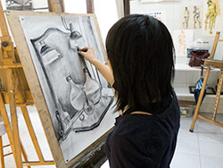 drawing with charcoal intensive course