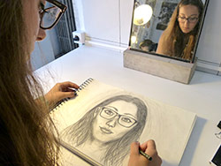 Intensive Course Portrait and Self-Portrait