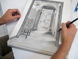 sktechbook drawing intensive course